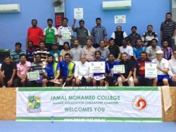 Jamalians Conduct Badminton Competition Singapore