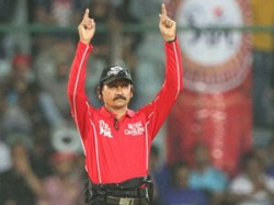 After Controversial Run Out Call Umpire Sanjay Hazare Removed