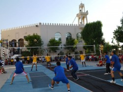 May Day Special Dubai Iman Conducts Volleyball Competition