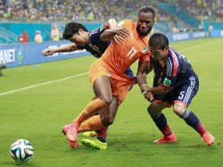 Ivory Coast Stage World Cup Fight Back See Off Japan