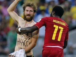 Germany Vs Ghana Match Pitch Invader Was Neo Nazi Sympathiseer Says Report