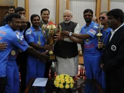 Lukewarm Welcome Blind Cricket Team After Winning Wc