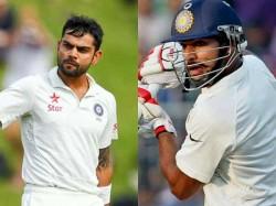 Kohli S Revenge Shikhar Dhawan Cheteshwar Pujara Axed Fourth Test