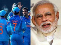 Modi Wishes Team India Ahead World Cup
