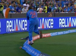 Dhawan Just Just Takes It Inside The Rope