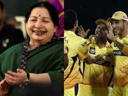 Jayalalithaa Becomes Cm Csk Make 6th Ipl Final Super Weeke