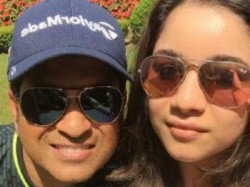Sachin S Selfie With Daughter