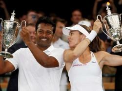 Leander Paes Martina Hingis Pair Wins Wimbledon Mixed Doubles Title