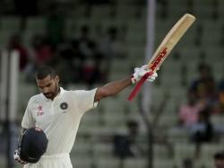 Southpaw Shikhar Dhawan Hits Test Ton On International Left Handers Day