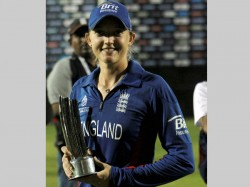 Historic Feat England Woman Cricketer Play Men S Game