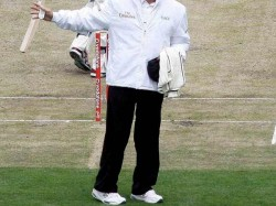 Umpire Gets Hurt Tn Ranji Trophy