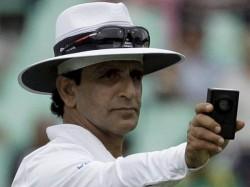 Bcci Bans Pakistan Umpire Asad Rauf 5 Years