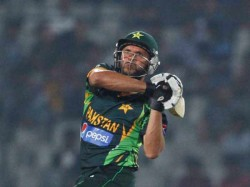 World T20 Under Fire Shahid Afridi Skips Practice Due Fever