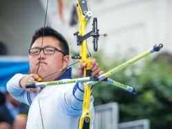 Rio 2016 World No 1 Archer Kim Woo Jin Suffers Shock Defeat