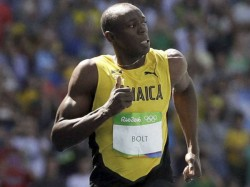 Lightning Strikes Thrice As Usain Bolt Completes 100m Hat Trick