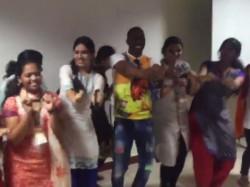 Bravo Dances With Female Fans At Stella Maris College