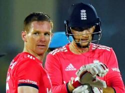 Eoin Morgan Complain Against Umpire Shamshuddin Hammer Blow