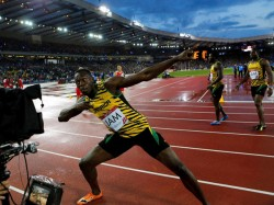 No Triple Treble Usain Bolt Loses One His 9 Olympic Gold