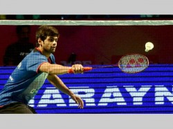 Praneeth Won Super Series Title At Singapore Open