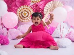 Suresh Raina Celebrated Daughter Gracia S First Birthday