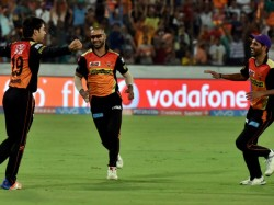 Hyderabad Wins Toss Elects Bowl Against The Gujarat Lions