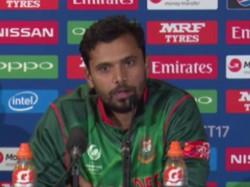 Bangladesh Performance Deserves Semi Final Place Mashrafe