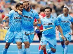 Hockey World League India Go Down 1 3 Against Netherlands