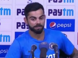 Icc Champions Trophy Virat Kohli Gets Angry At Pakistani Reporter