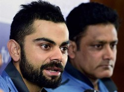Virat Kohli Deletes Anil Kumble Welcome Tweet Faces Fan S Ire