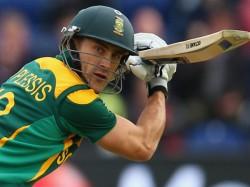 Faf Du Plessis To Lead World Xi