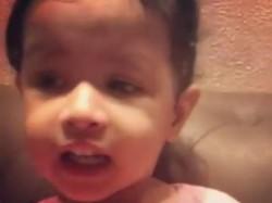 Dhoni S Daughter Ziva Seen Singing Malayalam