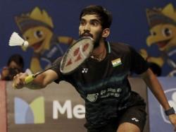 Srikanth Wins Denmark Open Style