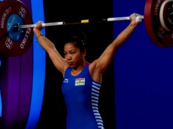 Indian Wins Gold Women Weight Lifting World Championship