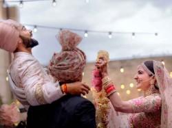 Kohli Anushka Sharma Tweet About Wedding Same Time