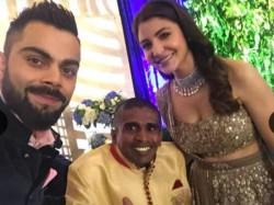 Kohli Anushka Sharma Invite Sri Lankan Fan Their Reception