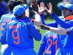 India Thrash Pakistan 203 Runs Reach U 19 World Cup Final