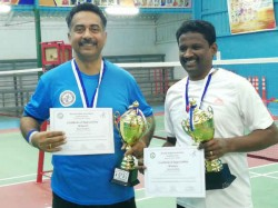Riyadh Indian Association Conducts It S First Badminton Tournament
