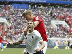 Denmark Meet France The Fifa World Cup
