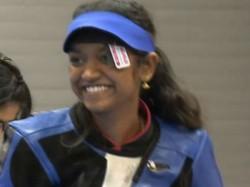 Elavenil Bags Gold At Junior Shooting World Cup