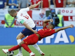 England Meet Belgium The Fifa World Cup