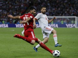 Spain Wins Against Iran The Fifa World Cup