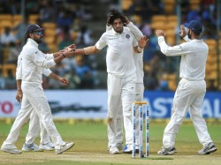 India S Twin Attack Bangalore Test Rattle Afghanistan