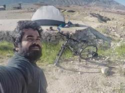 Kerala Man Travels Russia Cycle Meet Messi