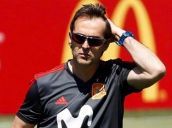 Spain Coach Sacked Before Start Fifa World Cup