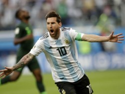 World Cup 2018 Messi Thanks God Helping His Side