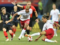Denmark Meet Croatia The Knock Match Fifa World Cup