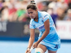 India Drew With Usa Enters The Play Off The Women Hockey World