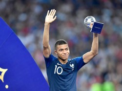 Fifa World Cup Final The Beautiful Story France Forward Player Mbaabe