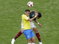 Brazil Meet Mexico The Knock Match Fifa World Cup