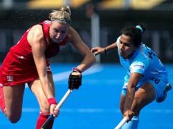 India Face Ireland The Women Hockey World Cup